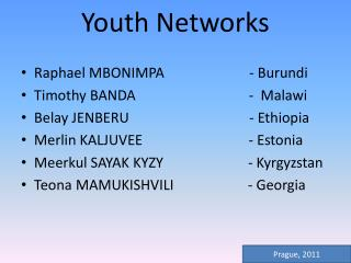 Youth Networks