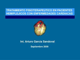 Int. Arturo García Sandoval