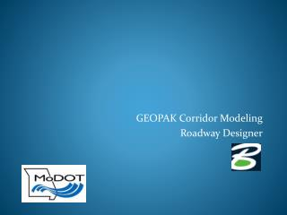 GEOPAK Corridor Modeling Roadway Designer