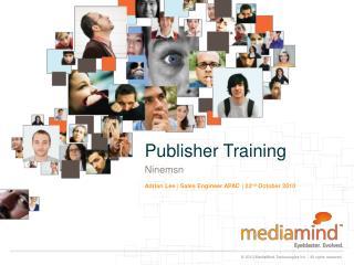 Publisher Training