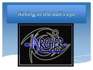Aiming at the Bull's eye