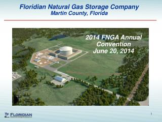 Floridian Natural Gas Storage Company  Martin County, Florida