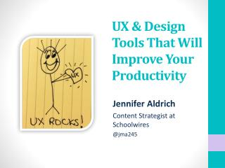 UX & Design Tools That Will Improve Your Productivity