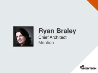 Ryan Braley  Chief Architect Mention