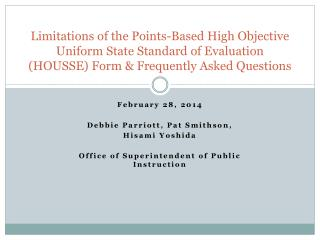 February 28,  2014 Debbie Parriott, Pat Smithson,  Hisami  Yoshida