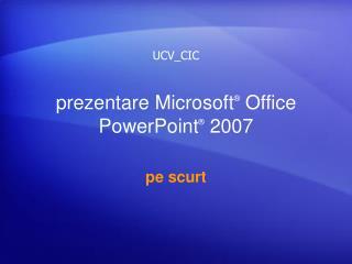 prezentare Microsoft