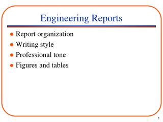 Engineering Reports