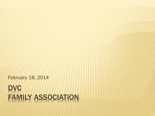 DVC Family Association
