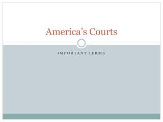 America's Courts