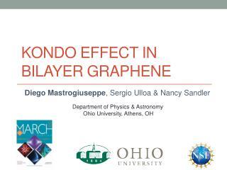 Kondo  effect  in  bilayer graphene