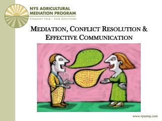 Mediation, Conflict Resolution & Effective Communication