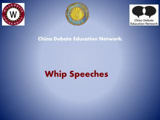 Whip Speeches