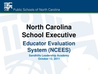 North Carolina School Executive