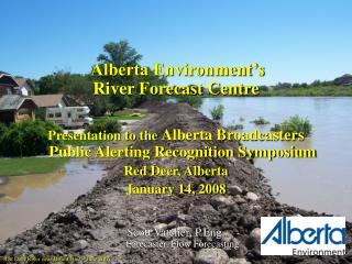 Red Deer River near Drumheller   June 2005