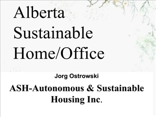 Alberta Sustainable Home