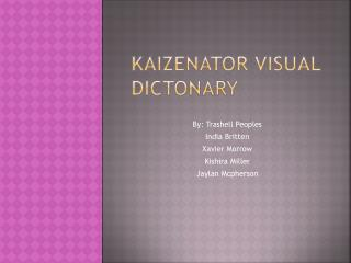 Kaizenator visual Dictonary