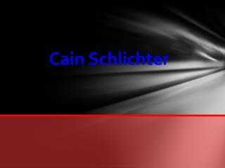 Cain Schlichter
