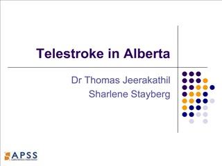 Telestroke in Alberta