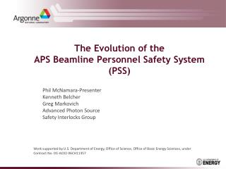 The Evolution of the APS Beamline Personnel Safety System (PSS)