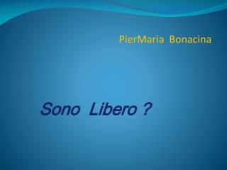 PierMaria Bonacina