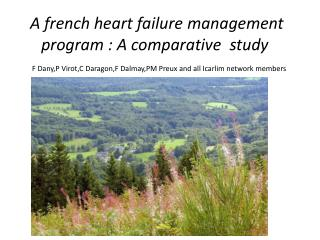 A  french  heart failure management program : A comparative  study