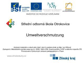 Střední odborná škola Otrokovice