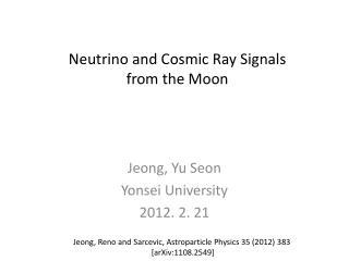 Jeong , Yu  Seon Yonsei  University 2012. 2. 21