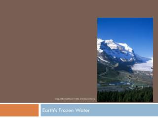 Columbia  Icefield  Parks Canada Photo