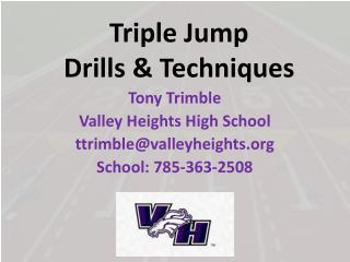 Triple Jump  Drills & Techniques