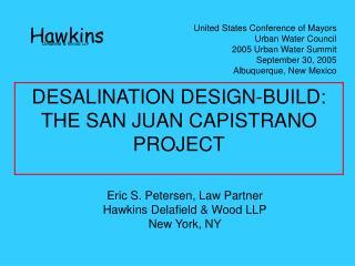 Eric S. Petersen, Law Partner Hawkins Delafield  Wood LLP New York, NY
