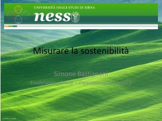 Misurare la sostenibilità