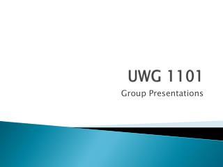 UWG 1101