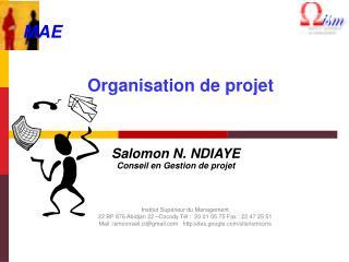 Organisation de projet