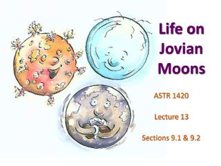 Life on Jovian Moons