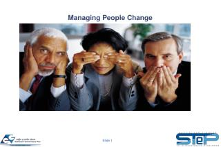 Managing People Change