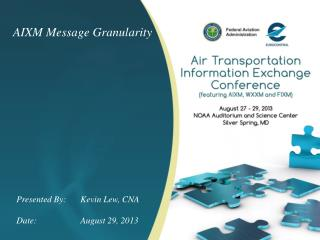 AIXM Message Granularity