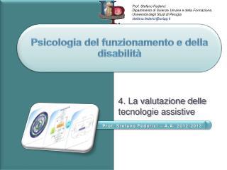 Psicologia del funzionamento e della disabilità