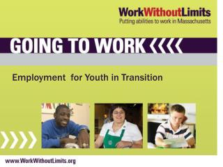 Employment  for  Youth in Transition