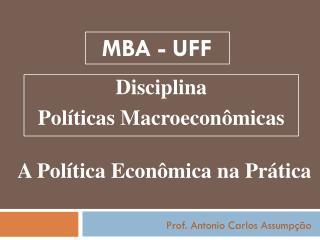 MBA -  UFF