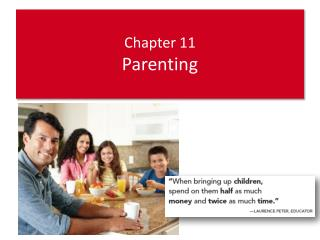 Chapter 11 Parenting