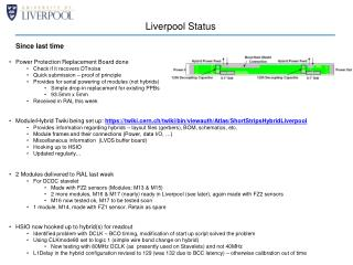 Liverpool Status