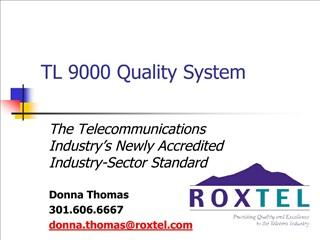 TL 9000 Quality System