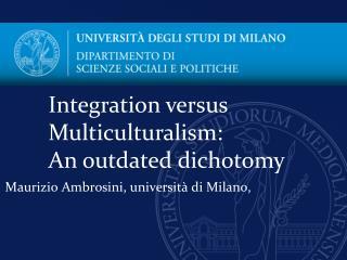 Maurizio  Ambrosini , universit� di Milano,