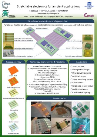 Stretchable  electronics  for am bient  applications