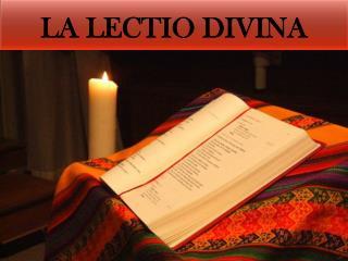 La  lectio divina