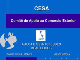 A ALCA E OS INTERESSES BRASILEIROS
