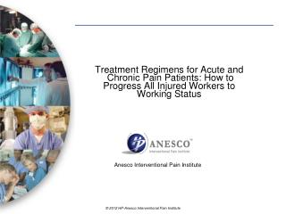 Anesco  Interventional Pain Institute