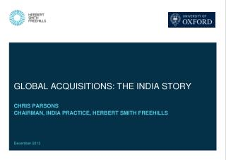 Global acquisitions: the India story