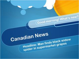 Canadian News