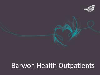 Barwon Health Outpatients